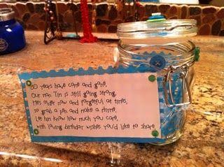 Birthday Wish Jar
