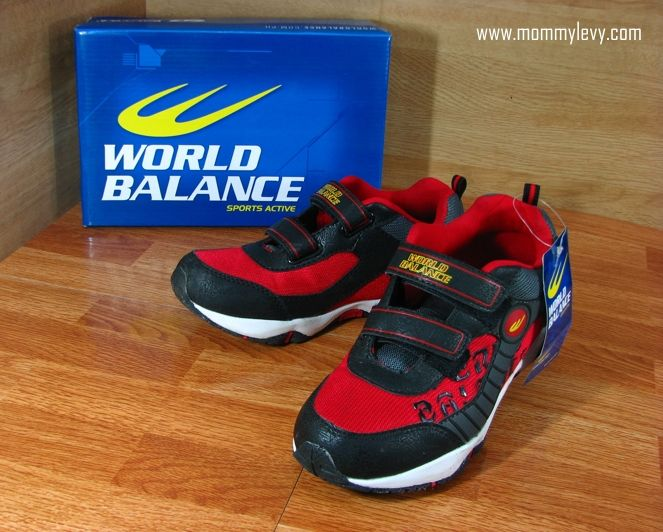 world balance shoes kids