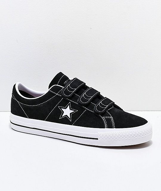 he equivocado saldar Adaptabilidad  Converse One Star Pro 3V Black & White Skate Shoes | Zumiez | Converse one  star, Converse, Skate shoes