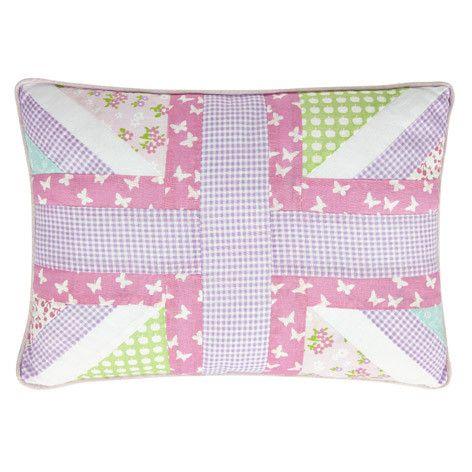 Laura Ashley Clementine Patchwork Cushion