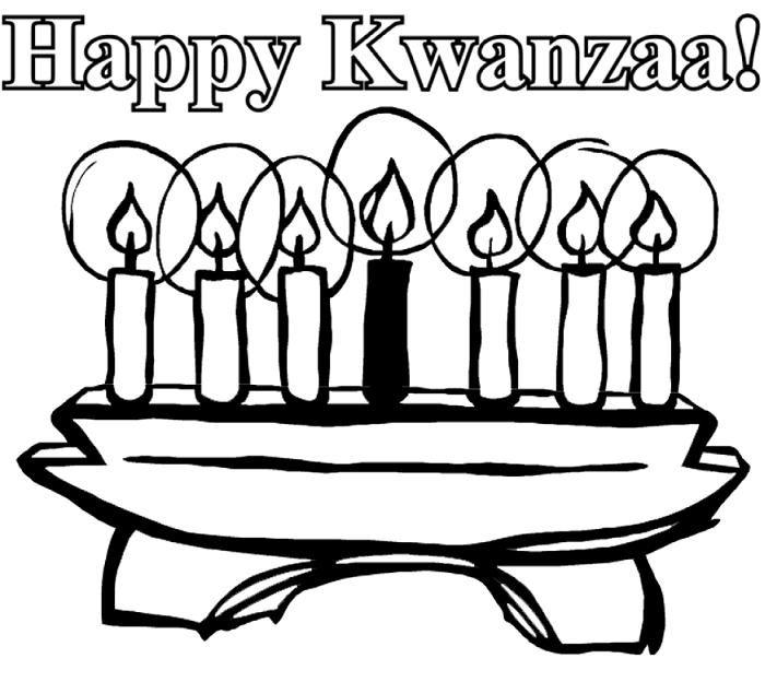 Holiday Coloring Pages Christmas Hanukkah And Kwanzaa Happy