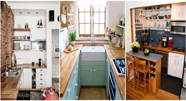 19 Practical U-Shaped Kitchen Designs for Small Spaces Kitchen