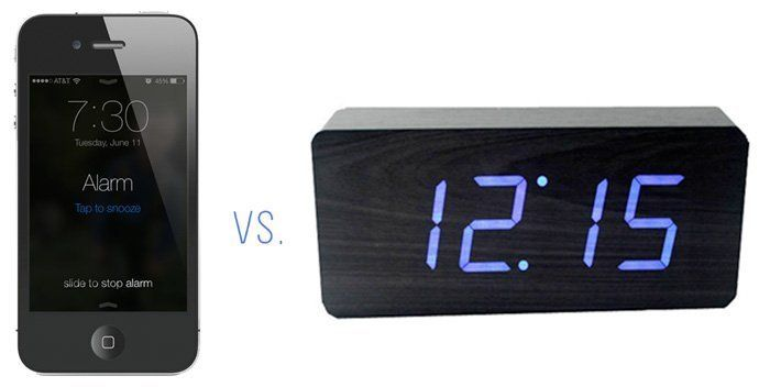 For the last three years, I've been using my smartphone as an alarm. It seemed innocuous enough, until I came upon an alarm clock that I found quite cool and decided to try using it instead of my mobile. The results were surprising.