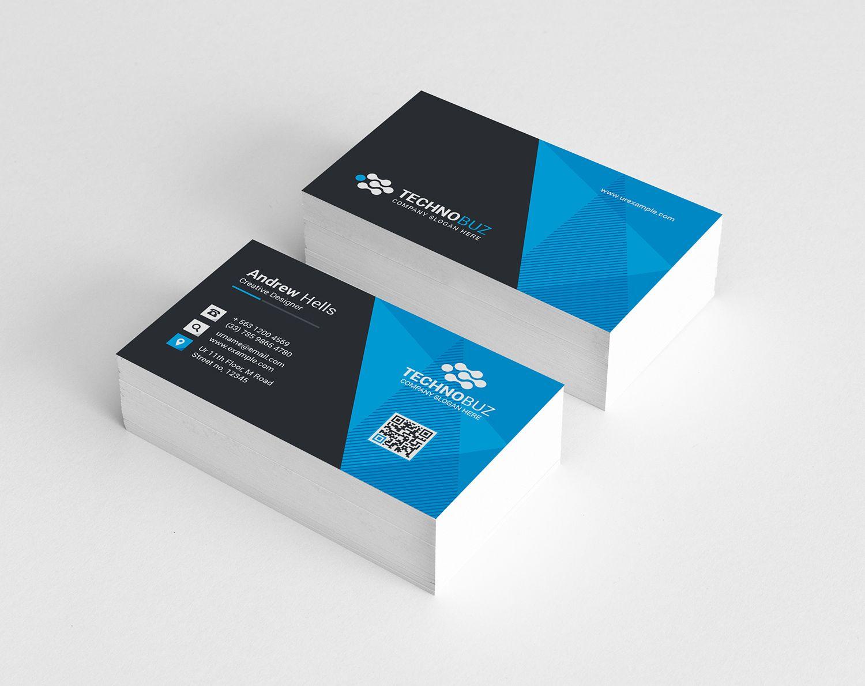 Vision Modern Business Card Template Modern Business Cards