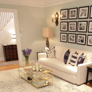 Get The Look Property Brothers Jim Gabby S Living Room Modern Farmhouse Interiors Property Brothers Home