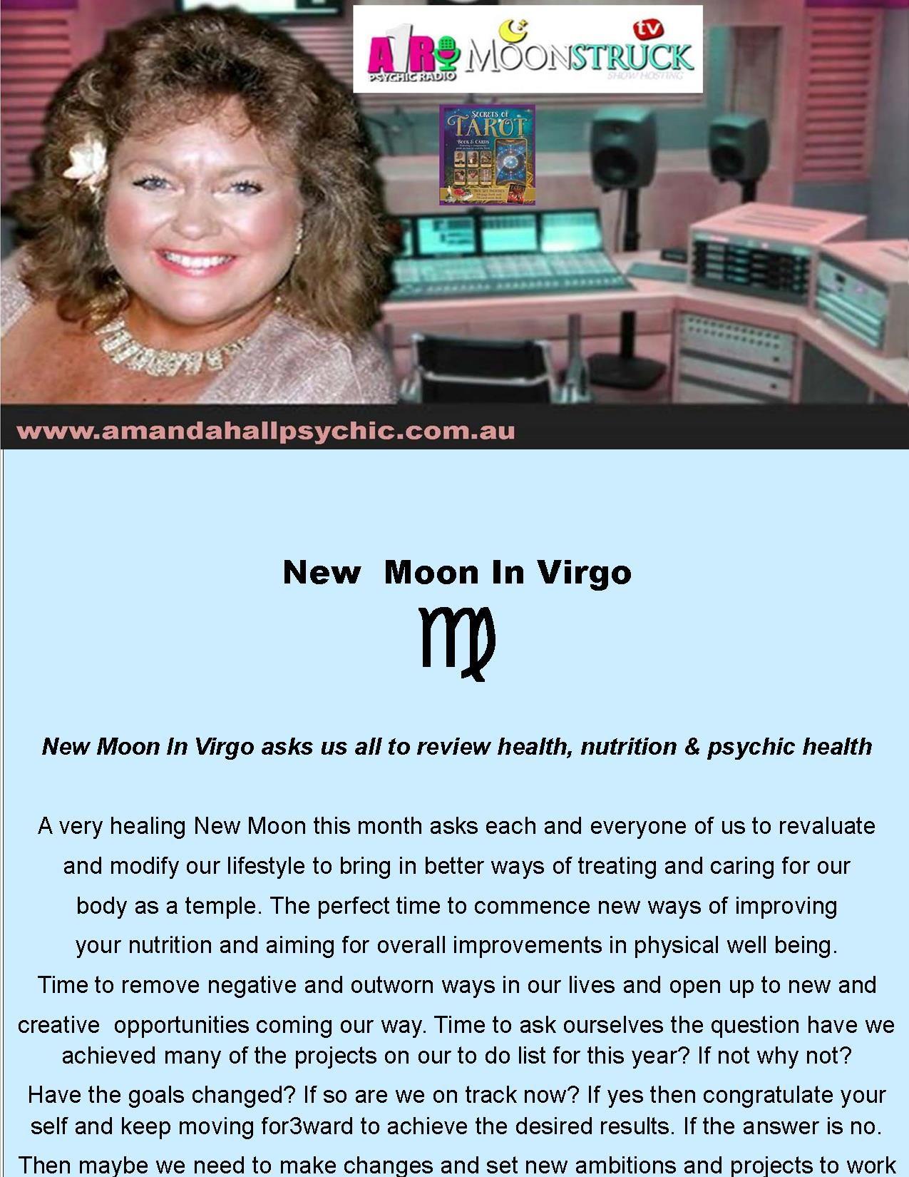 A1r psychic radio on moonstrucktv show with amanda hall