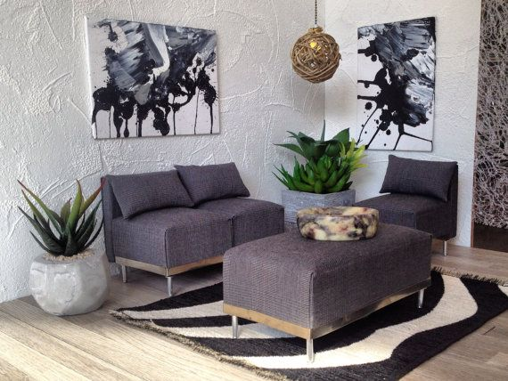 1 6 modernen miniaturm bel f r mode puppen doll house. Black Bedroom Furniture Sets. Home Design Ideas