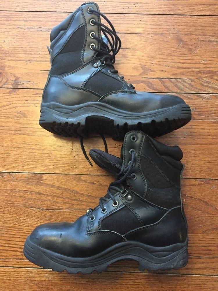 1ee3e581da7 Brahma SWAT Safety Toe Work Combat Boots Men's 9W Black 2540139 ...