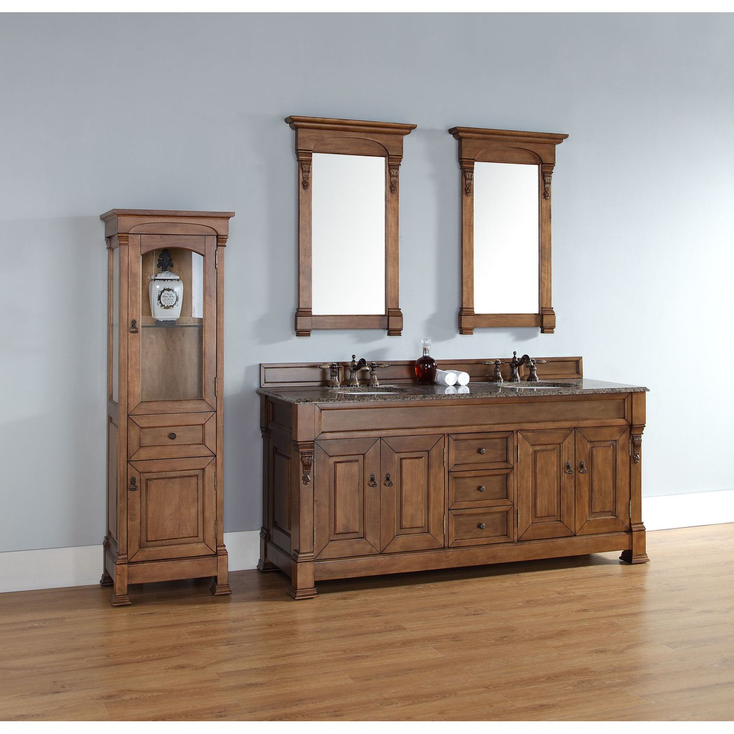 """James Martin Furniture Brookfield 72"""" Double Cabinet ..."""