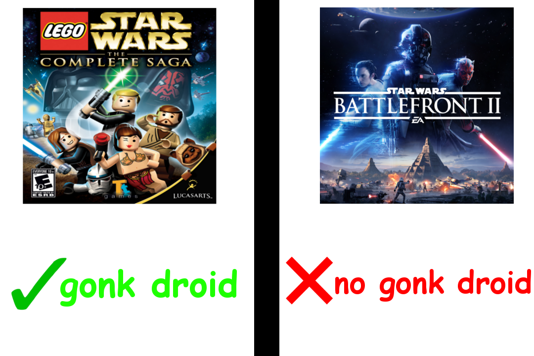 Star Wars Battlefront 2 Is By Far The Inferior Product Star Wars Battlefront Star Wars Battlefront
