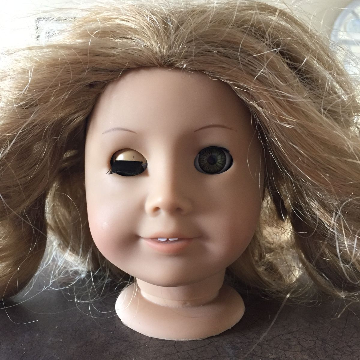 Fixing a Doll with a Broken Eye Nub | American Girl Doll