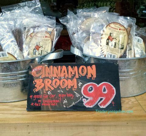 Trader Joe's Cinnamon Broom/Whisk $.99 トレーダージョーズ シナモンウィスク #TraderJoes Cinnamon Broom/Whisk $.99 #トレーダージョーズ シナモンウィスク