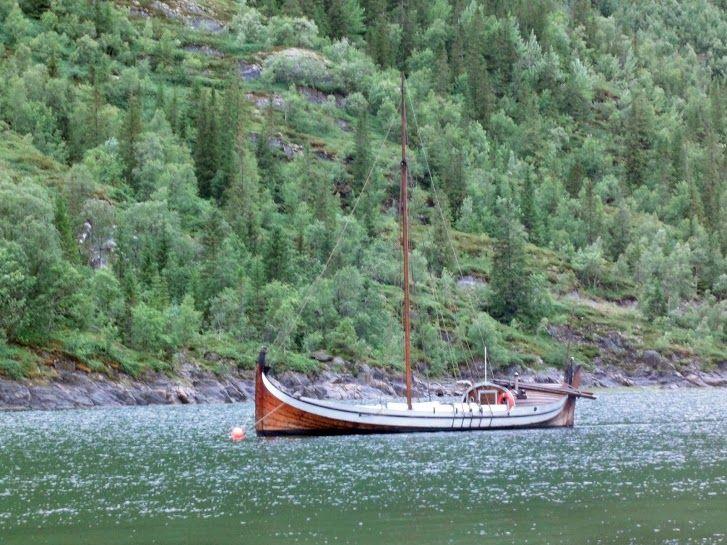On The Water In Mosjoen Norway Trip Shield Maiden