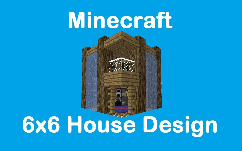 ✓ Minecraft : 6x6 House Design | Minecraft | Pinterest ...