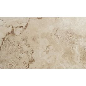 Floors 2000 Vesta 6-Pack Ivory Porcelain Floor And Wall Tile (Common: