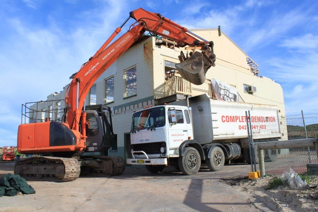 Complete Demolition is one of the largest demolition