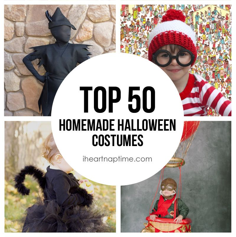 Holidays halloween · Top 50 Homemade Costumes ...  sc 1 st  Pinterest & Top 50 Homemade Costumes on iheartnaptime.com | Costume Ideas ...