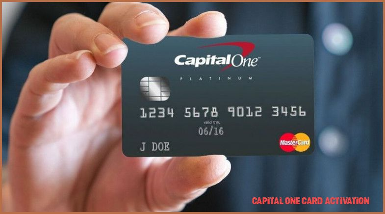 This Story Behind Capital One Card Activation Will Haunt You Forever Capital One Card Activation Capital One Card Capital One Credit Card Capital One Credit