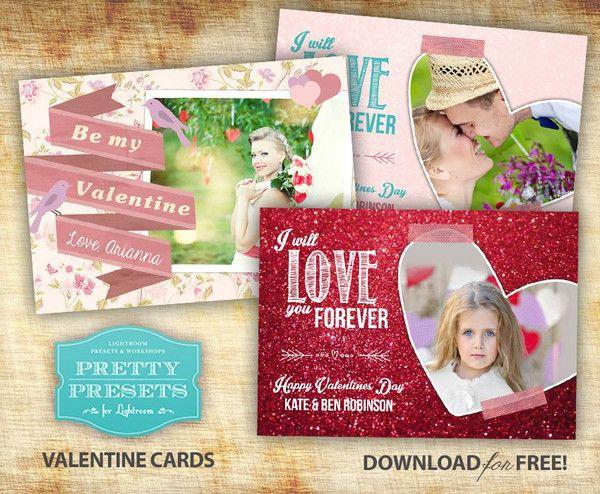 3 Free Valentines Day Card Templates Free Valentines Day Cards Valentines Day Card Templates Free Valentine