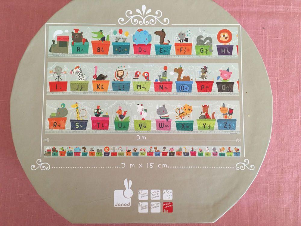 Janod Giant Alphabet Train Kids Jigsaw Floor Puzzle 27 Piece 3 6