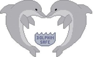 Cross Stitch Knit Crochet Plastic Canvas Waste Canvas Rug Hooking and Bead Work Pattern Dolphin Safe. Dolphin-safe labels are used to denote compliance with laws or policies designed to minimize dolphin fatalities during fishing for tuna destined for canning  https://www.pinterest.com/resparkled/