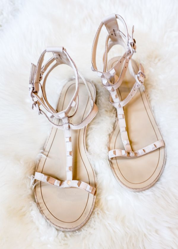 586ccc6cdf14 Studded Nude Sandal for Summer  styleblogger  TTD