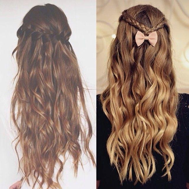 pretty curls & braids bows