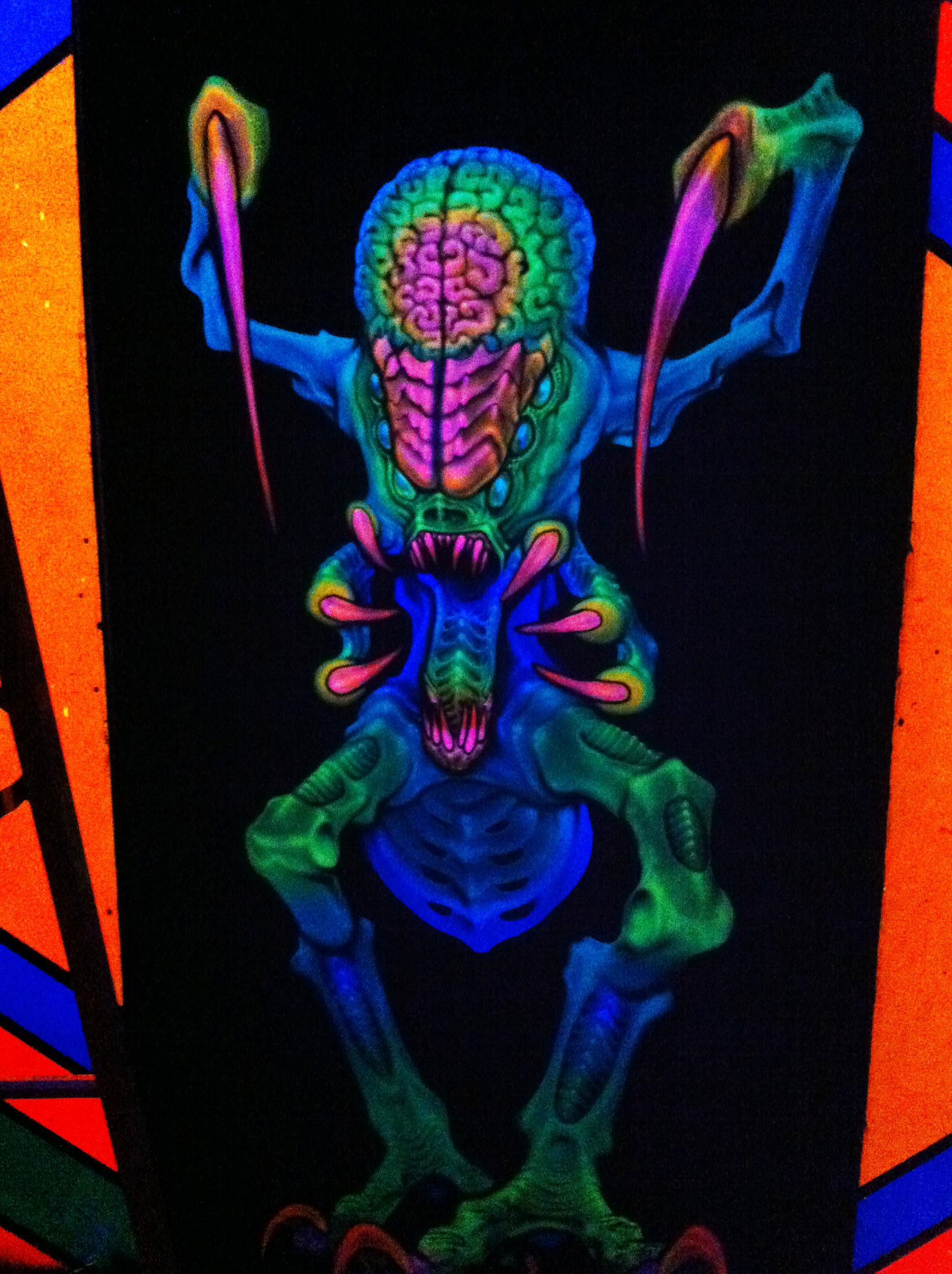 3D Art By Dutch Bihary At Haunted Nightmare Haunted Attraction
