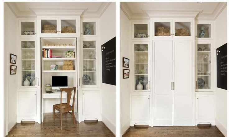 Living Room Wall Unit With A Hidden Desk Google Search Hidden Desk Desk In Living Room Kitchen Desk Areas