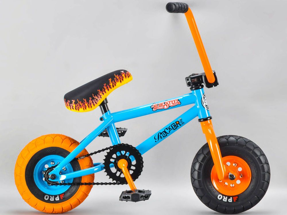 Latest Bmx Bikes For Sales Bmxbikes Bmx Bikes Genuine Rocker Not Copy Blue Steel Irok Bmx Rkr Mini Bmx Bike 1 Bmx Bikes Bmx Bicycle Bicycles For Sale