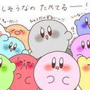 星のカービィ デジタルとアナログらくがき あぎりのイラスト Kirby