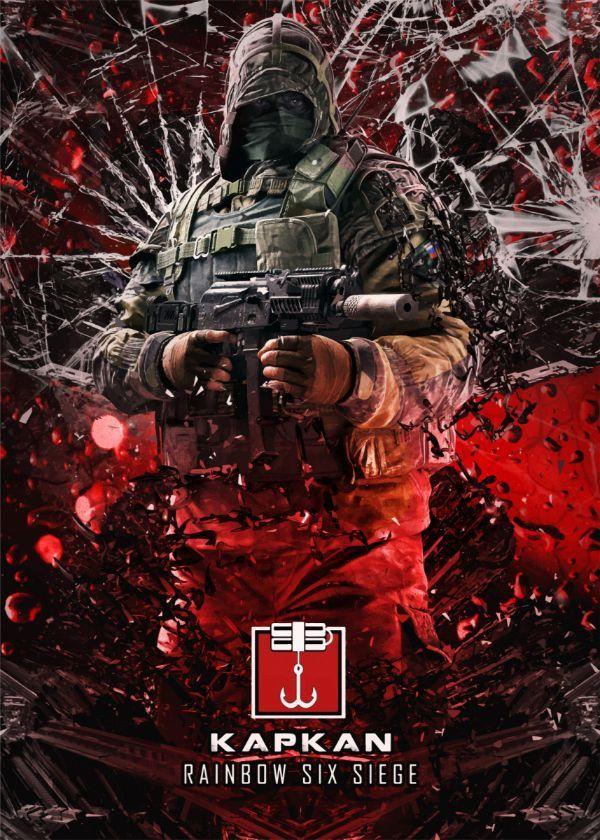 Rainbow Six Siege Operators Displate Posters