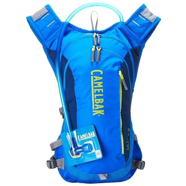 84b7c6bd8a CamelBak Ultra 4 70 oz (Electric Blue/Poseidon) Backpack Bags ($105) ❤  liked on Polyvore featuring bags, backpacks, blue, chain strap backpack,  camelbak, ...