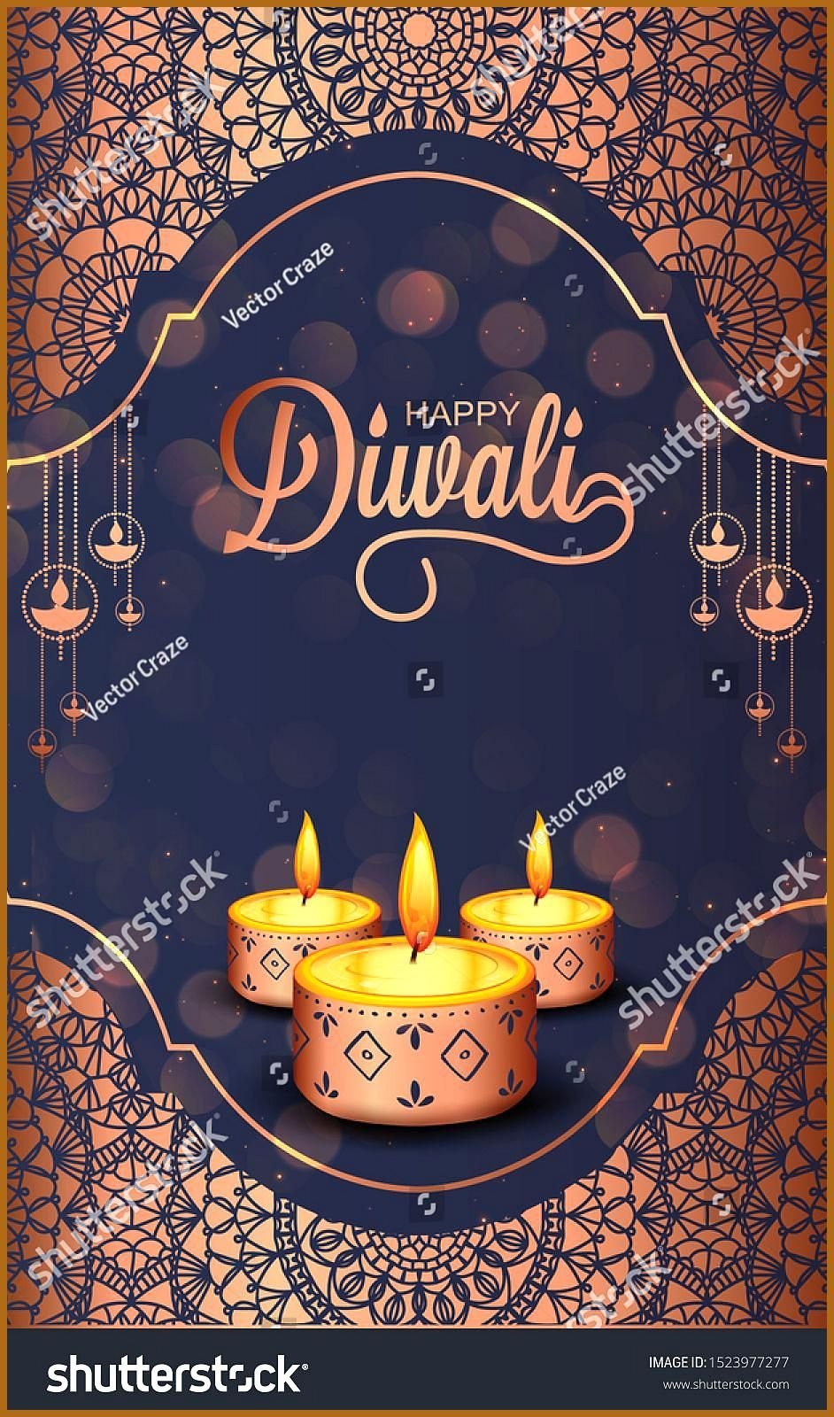 Diwali Holiday background for light festival of India with message Happy Diwali Vector Ad SPONSORED backgroundlightDiwaliHoliday Diwali Holiday background for light festi...