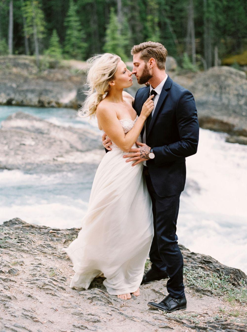 Calgary Wedding Photographers Emerald Lake Lodge Wedding