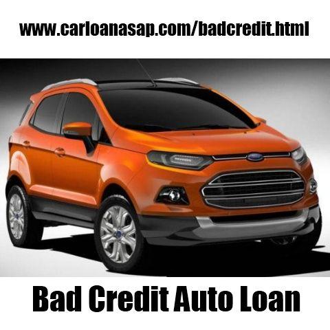 Bad Credit Auto Loan Ford Small Suv Ford Ecosport Small Suv