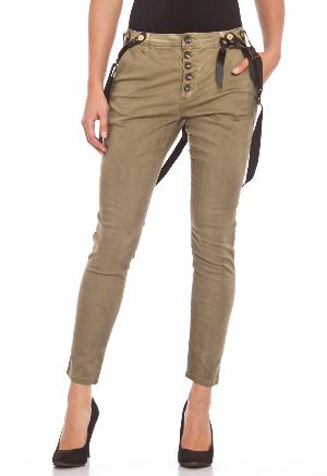 Bage pants with braces
