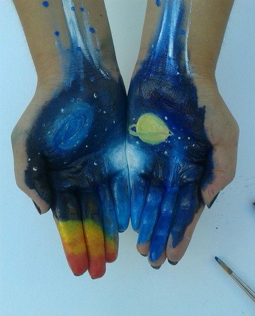 Space handpainting