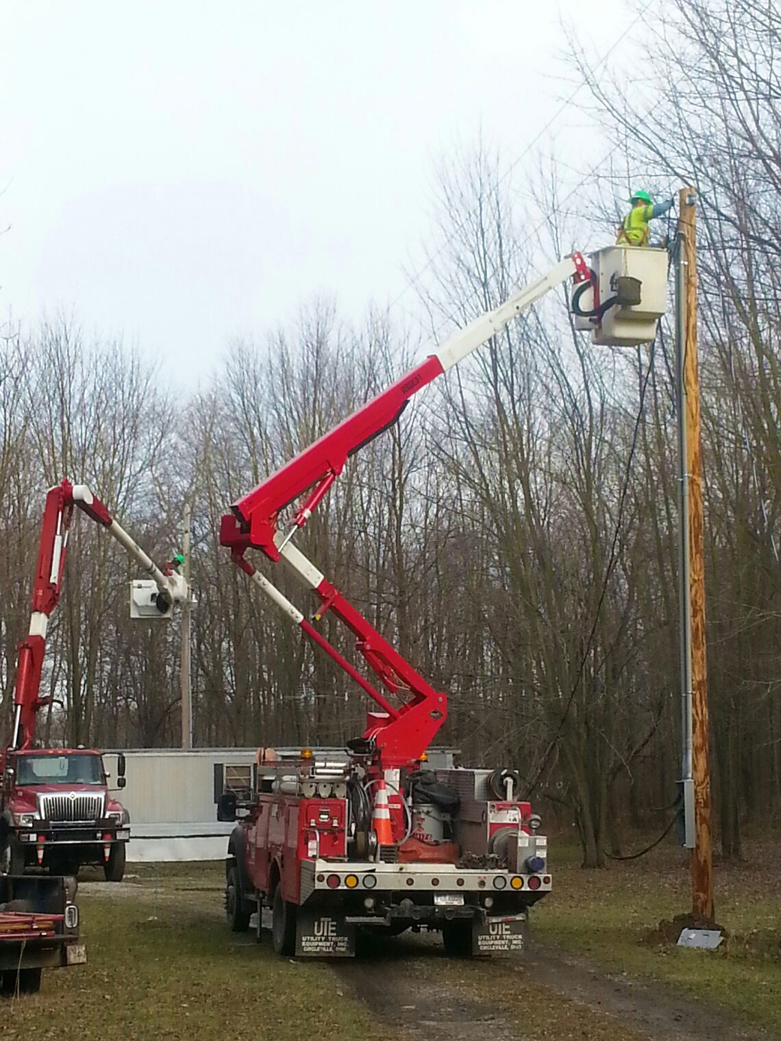 Firelands linemen keeping you connected with images
