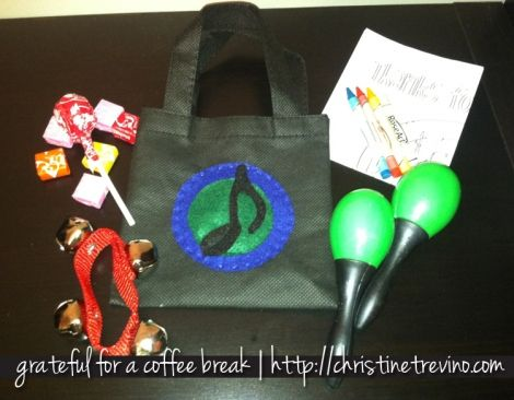 Goodie Bag - Music Theme Birthday Party