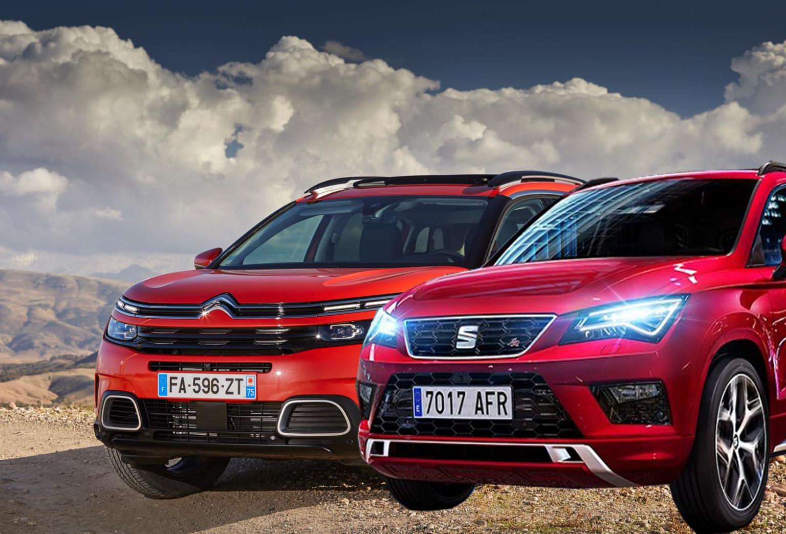 مقارنة بين سيتروين C5 إير كروس وسيات أتيكا منافسة أوروبية راقية سوق بكر In 2020 Car Suv Car Bmw Car