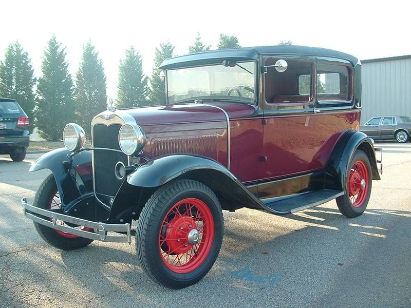 1930 Ford Model A Standard Two Door Sedan Ford Models