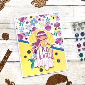 Spellbinders July 2019 Card Kit of the Month #cardkit