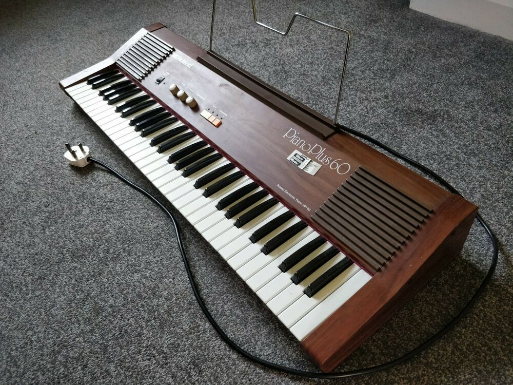 Roland Piano Plus 60 Electric Vintage Synthesizer Keyboard Excellent Condition Piano Roland Piano Electric Piano