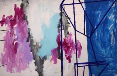 """Saatchi Art Artist Jeroen Molenaar; Painting, """"It came from left. (Sold)"""" #art"""