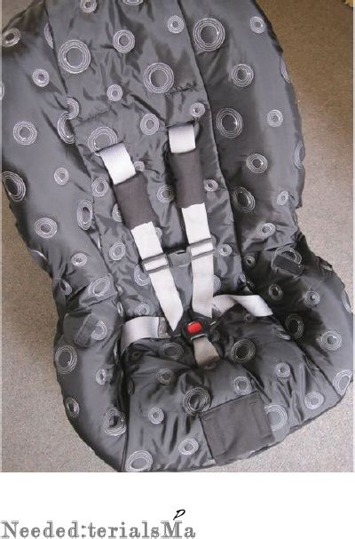 Toddler Car Seat Cover Pattern PDF - perfect fit for a Britax ...