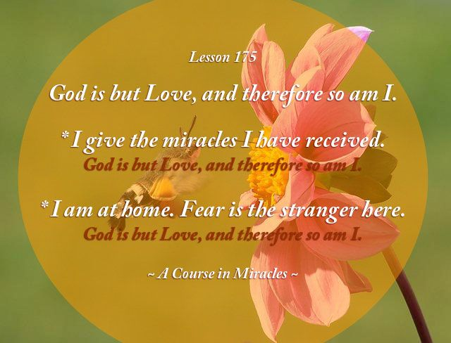 Pin By Awakening To Love On Daily Lessons From A Course In