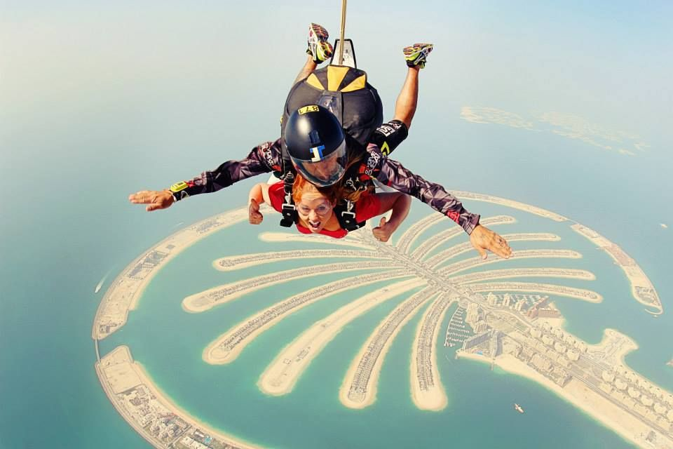 Skydive Dubai Review Flying The Nest Visit Dubai Skydiving In Dubai Flying The Nest