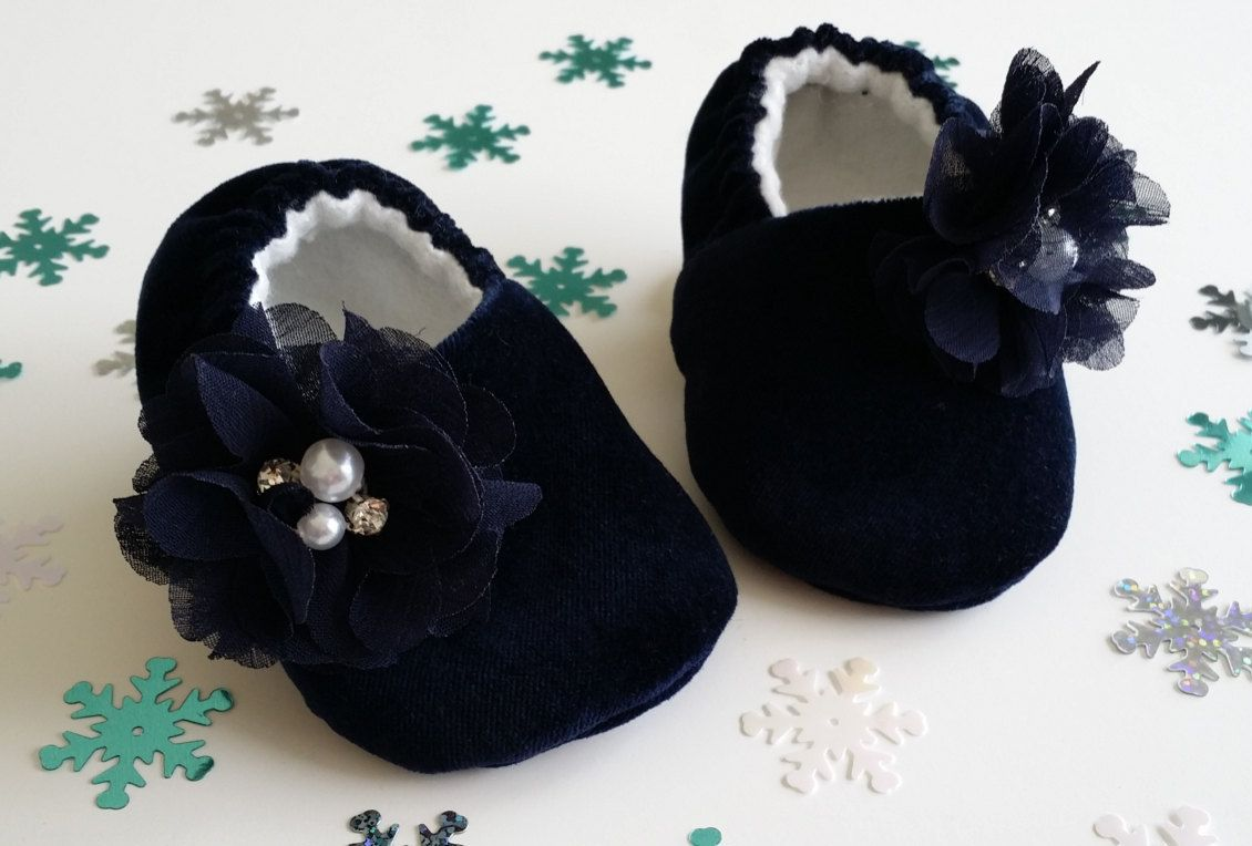 Baby shoes, Velvet, soft sole shoes, baby crib shoes by JoEEBaby on Etsy