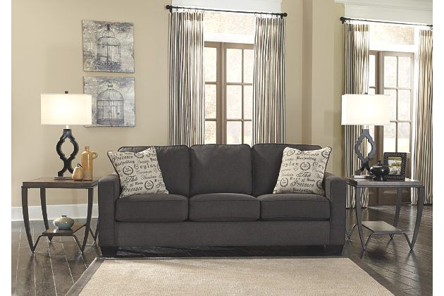 Alenya Queen Sofa Sleeper Grey Sofa Living Room Gray Sofa Living Living Room Grey